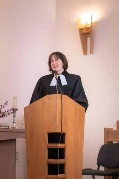 Dr. Blázy Márti kelenföldi lelkész igei bevezetője